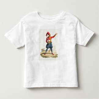 Turkish soldier, from 'Costumes of the Various Nat Toddler T-Shirt
