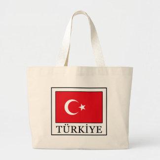 Türkiye Large Tote Bag