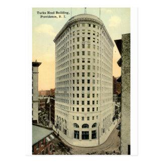 Turks Head Building Providence RI 1915 Vintage Postcard