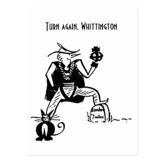 Turn Again, Whittington Postcard