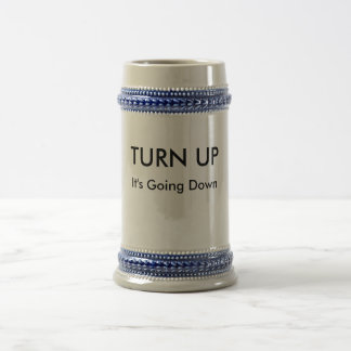 Turn Up / It's Going Down Party Mug