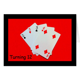 Turning 12 Is A Big Deal! Card