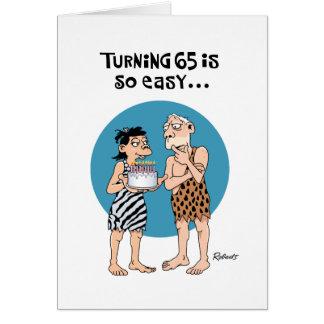 Turning 65 Birthday Greeting Card
