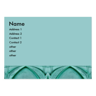 turquoise abstract business cards