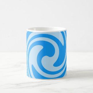 Turquoise Blue Swirls Nautical Inspired Mug