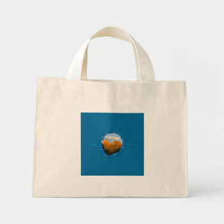 Turquoise Cathedral Rock Tote Bag
