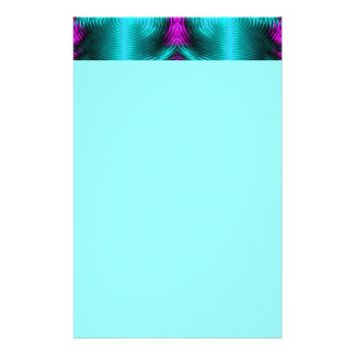 turquoise circles stationery