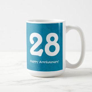 Turquoise Customizable Numbered Anniversary Mug