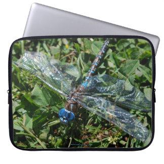 Turquoise Dragonfly Neoprene Laptop Sleeve