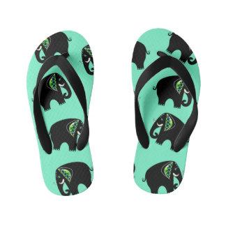 turquoise elephant 87 thongs