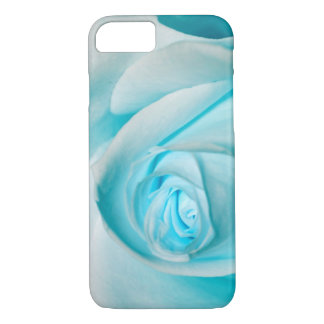 Turquoise Ice Rose iPhone 8/7 Case