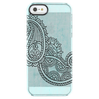 Turquoise Mehndi Motif Uncommon iPhone 5 Case