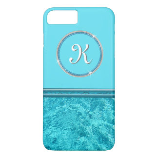 Turquoise MONOGRAMMED iPhone Cases for Her