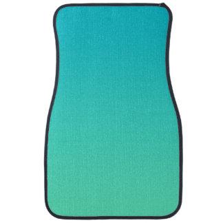 """""""Turquoise Ombre"""" Floor Mat"""