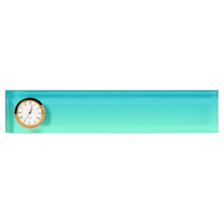 Turquoise Ombre Nameplate