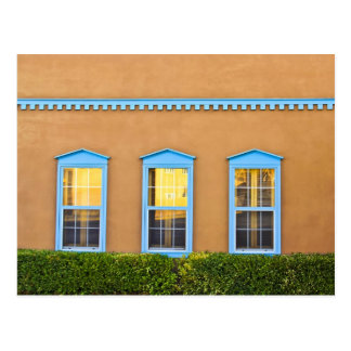 Turquoise Windows Postcard