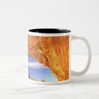 Turret Arch, Arches National Park, Utah, USA Two-Tone Coffee Mug