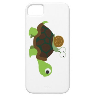 Turtle and Snail iPhone 5 Case