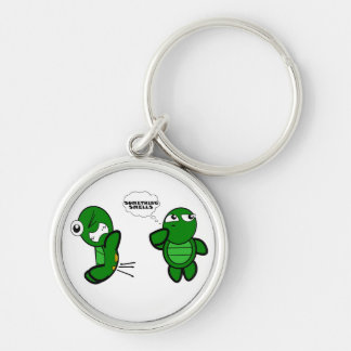 Turtle Fart Key Ring