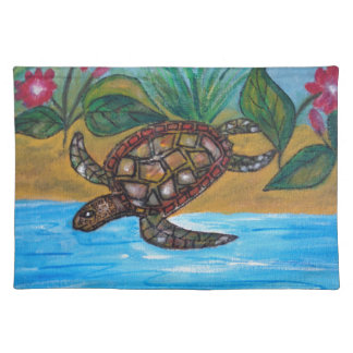Turtle or tortoise accessories placemat