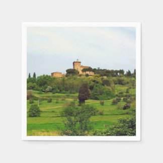 Tuscan Countryside Paper Napkin