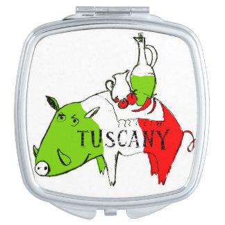 Tuscany life compact mirrors