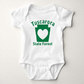 Tuscarora SF Heart - Infant Creeper
