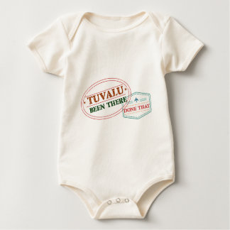 Tuvalu Been There Done That Baby Bodysuit