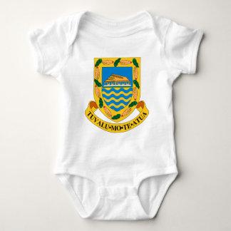 Tuvalu Coat of Arms Baby Bodysuit