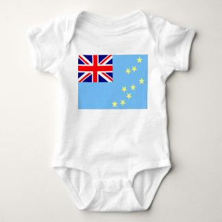 Tuvalu Flag Baby Bodysuit