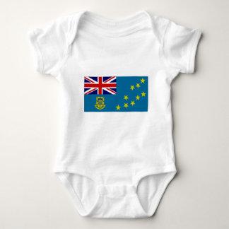 Tuvalu State Flag Baby Bodysuit