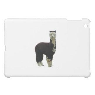Tuxedo alpaca cover for the iPad mini