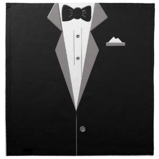 Tuxedo Art Napkin