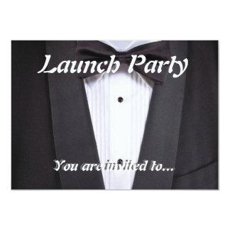 Tuxedo Black tie party formal 11 Cm X 16 Cm Invitation Card