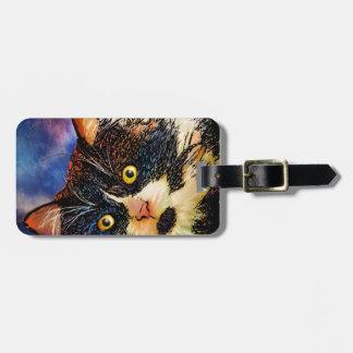 Tuxedo Cat - Bag Tag