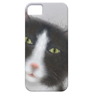 Tuxedo Cat iPhone 5 Case
