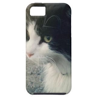 Tuxedo Cat iPhone 5 Cases