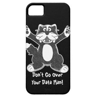 Tuxedo Cat iPhone 5 Cover