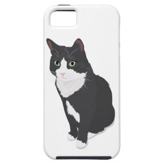 Tuxedo Cat Tough iPhone 5 Case