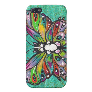 Tuxedo Catterfly Cat/Butterfly Whimsical Fantasy! iPhone 5 Cover