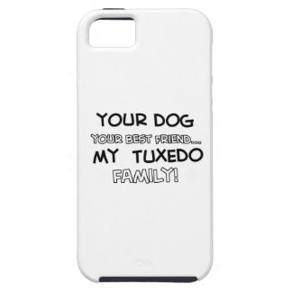 Tuxedo is family designs iPhone 5 case