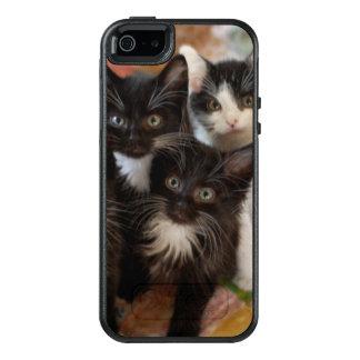 Tuxedo Kitten Group OtterBox iPhone 5/5s/SE Case