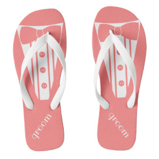 Tuxedo Personalize Color Thongs