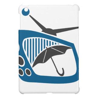 TV Rain Umbrella Forecast iPad Mini Cases