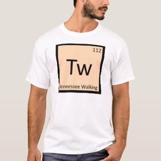 Tw - Tennessee Walking Horse Gaited Chemistry T-Shirt