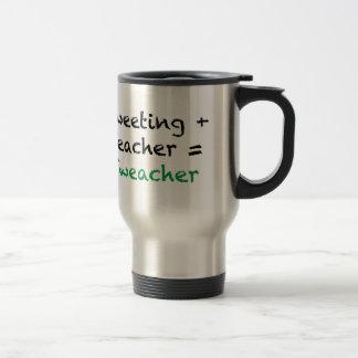 Tweeting + Teacher = Tweacher Travel Mug