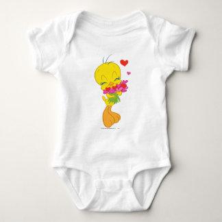 Tweety Hearts Baby Bodysuit