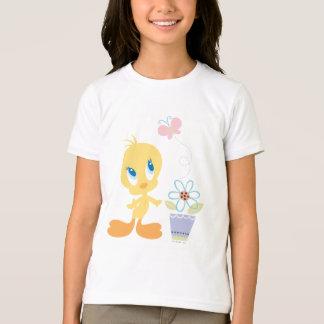 Tweety Looking Butterfly T-Shirt