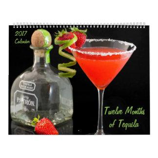 Twelve Months of Tequila 2017 Calendar