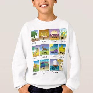 Twelve Tribes of Israel Seals Sweatshirt